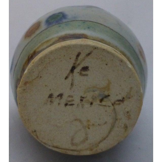Vintage Ke Mexican Pottery Bud Vase - Image 5 of 6