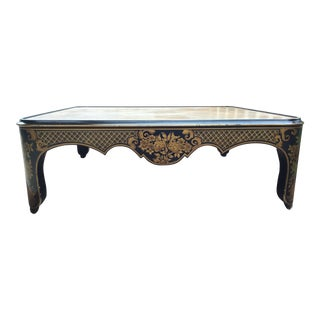 1960s Chinoiserie Baker Coffee Table For Sale