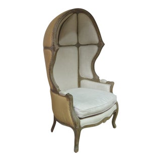 20th Century French Provincial Style Balloon Chair