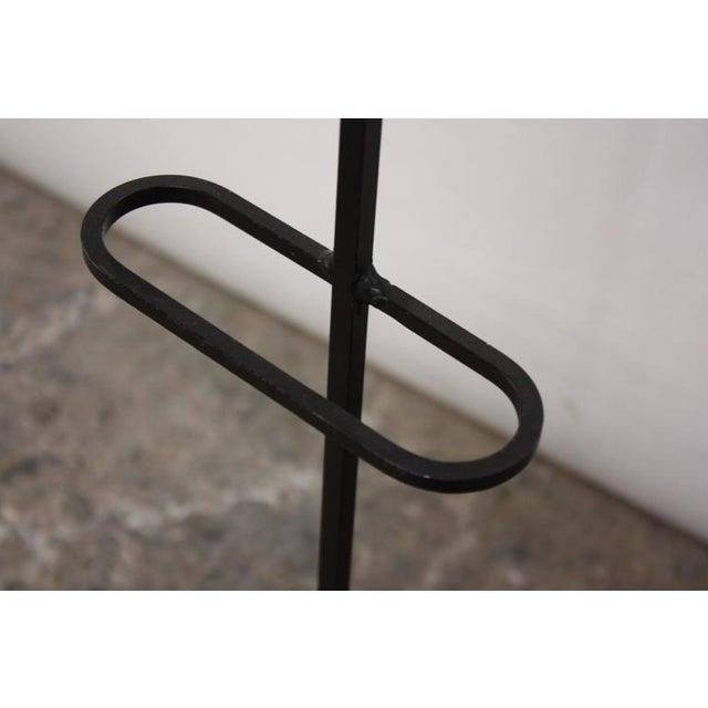 Frederick Weinberg Style Iron Tripod Valet - Image 9 of 9