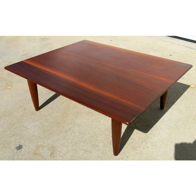 Mid-Century Low Coffee Table - Image 5 of 6