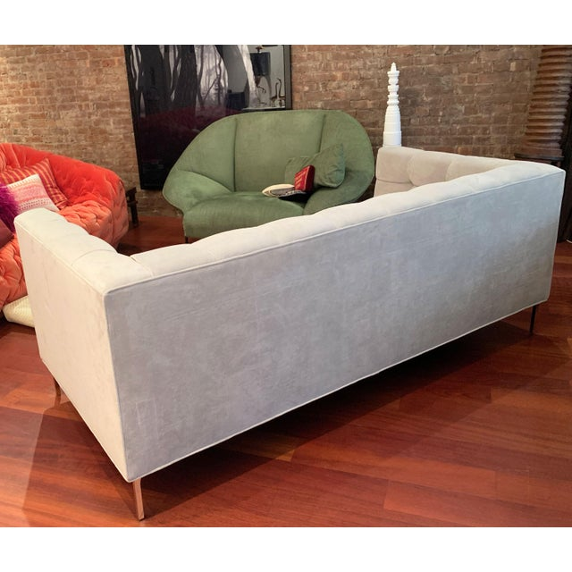 ModShop Custom Made Tufted Sofa For Sale In New York - Image 6 of 9