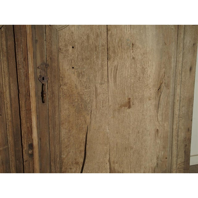Tan 1700s Antique French Oak Doors From Burgundy- A Pair For Sale - Image 8 of 13
