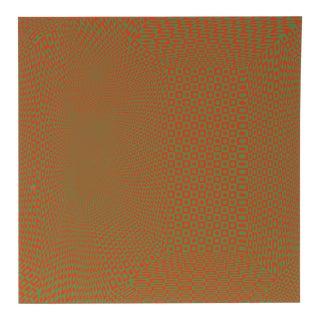 """1960s Roy Ahlgren, """"Spatial Concept Iii"""", Op Art Screenprint For Sale"""