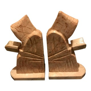1940s Vintage Monastic Bookends- A Pair For Sale