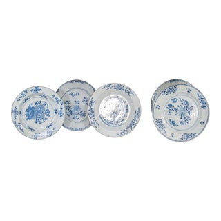 Chinese Export Porcelain Plates For Sale