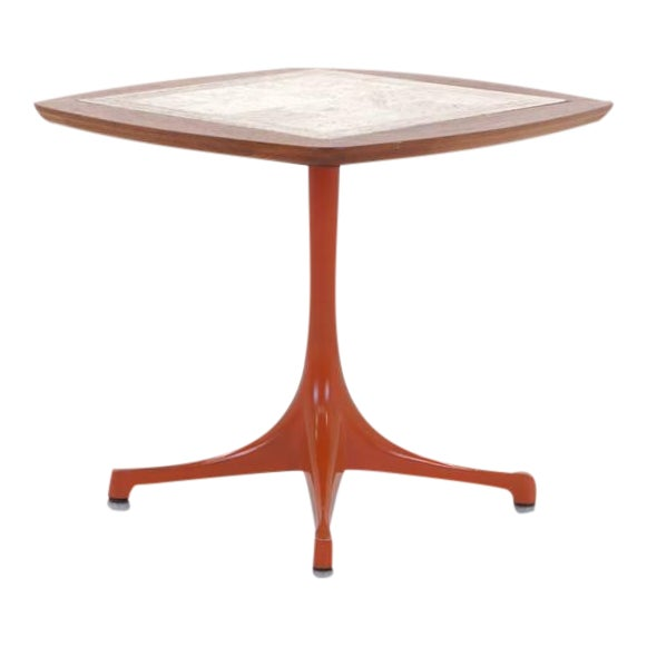 Rare Early Original George Nelson Swag Leg Side Table For Sale
