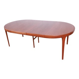Ib Kofod-Larsen for Faarup Danish Modern Teak Extension Dining Table For Sale