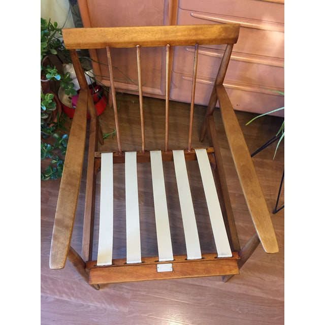 Knoll Antimott Lounge Chair For Sale - Image 10 of 13