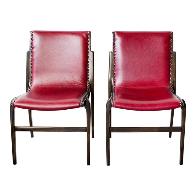 Kungsor Stolen Bentwood Swedish Side Chairs - a Pair For Sale
