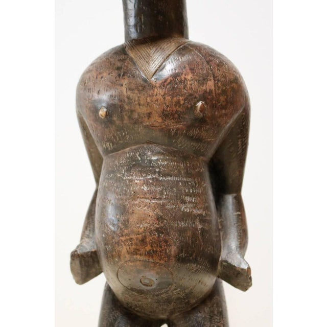 """""""Fertility"""" African Sculpture by the Lobi People For Sale - Image 5 of 12"""