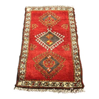 Vintage Anatolian Area Rug For Sale
