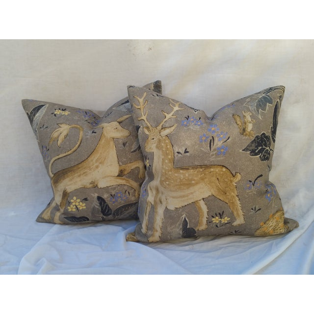 Zoffany Mythical Animal Pillows - A Pair - Image 2 of 7