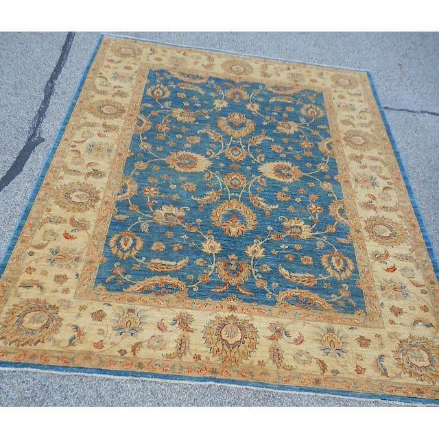 Oushak Design Hand Woven Oriental Rug - 8' X 11' - Image 11 of 11