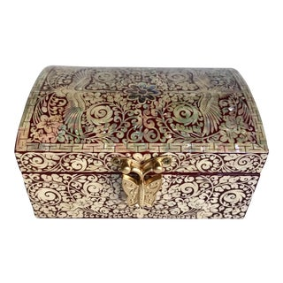 Nacre Mother of Pearl Jewelry Box For Sale