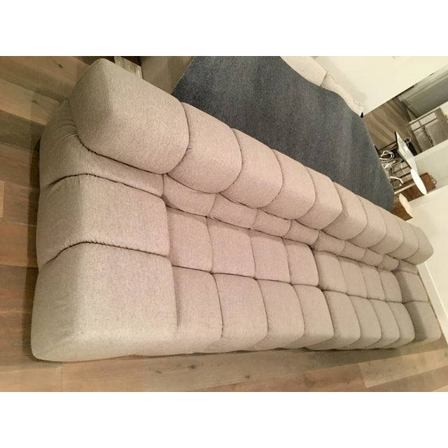 An authentic B&B Italia Modern Tufty Time Sofa in excellent condition. There is one minor flaw in the fabric that has been...