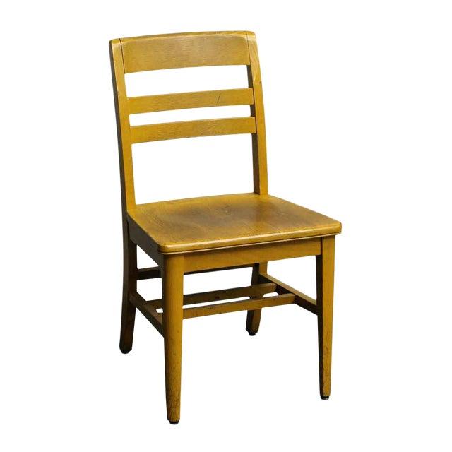 Wooden School Chair - Image 1 of 7