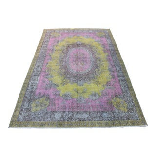 Vintage Turkish Bursa Rug - 5′7″ × 9′8″