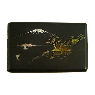 Damascene Gold & Silver Cigarette Case