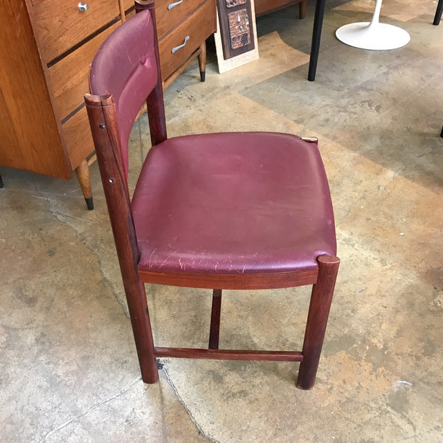 Solid Rosewood Danish Dining Chairs - Set of 4 - Image 3 of 7