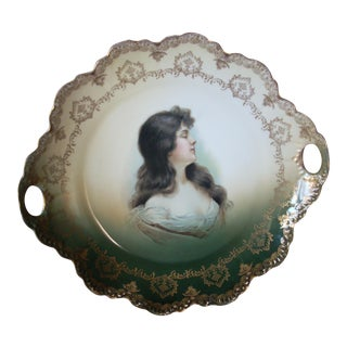 Vintage Malmaison Bavarian Plate For Sale