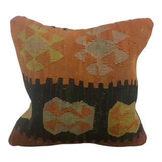 Turkish Ethnic Handmade Kilim Pillow For Sale