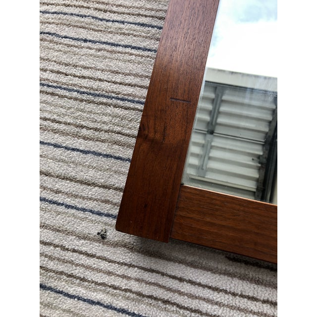 Cavalier Vintage Mid Century Modern Wall Mirror. For Sale - Image 4 of 10
