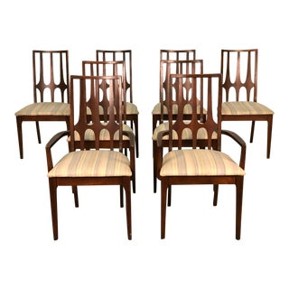 Broyhill Brasilia Mid-Century Modern Dining Chair ~ Set of 8 For Sale