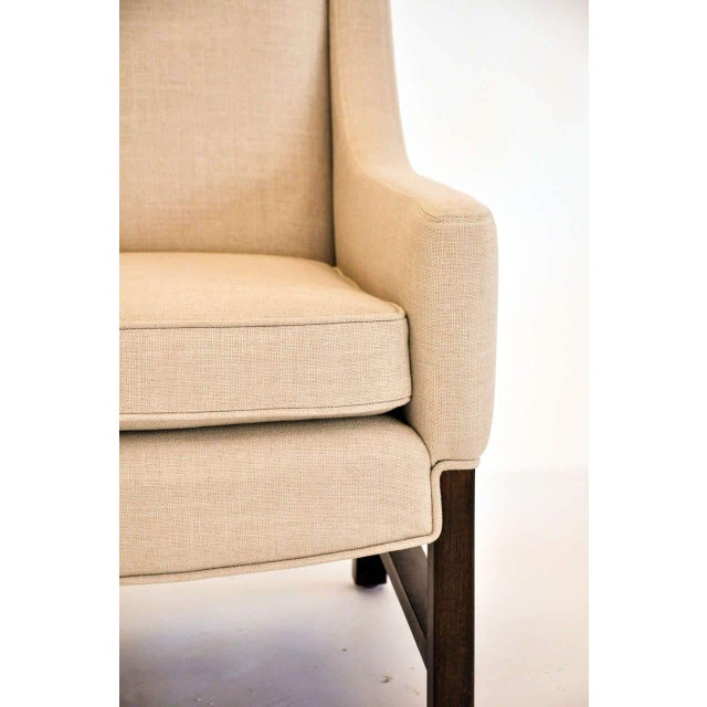 1950s Lounge Chairs Attributed to Edward Wormley for Dunbar, 1950s For Sale - Image 5 of 9