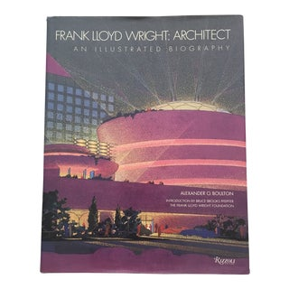 "1993 ""Frank Lloyd Wright: Architect an Illustrated Biography"" First Edition Art Book For Sale"