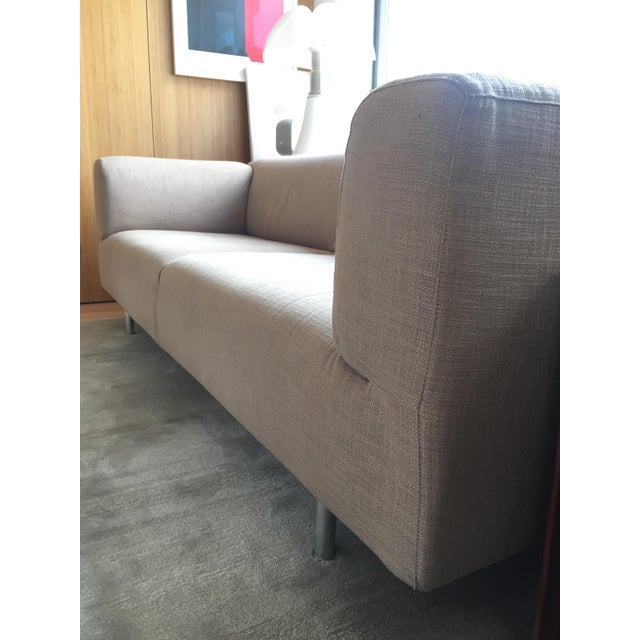 Cassina Met 250 Beige Sofa by Piero Lissoni For Sale - Image 10 of 10