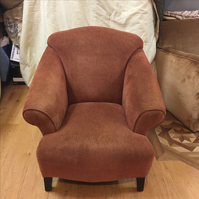 Vintage Style Upholstered Armchair - Image 2 of 5