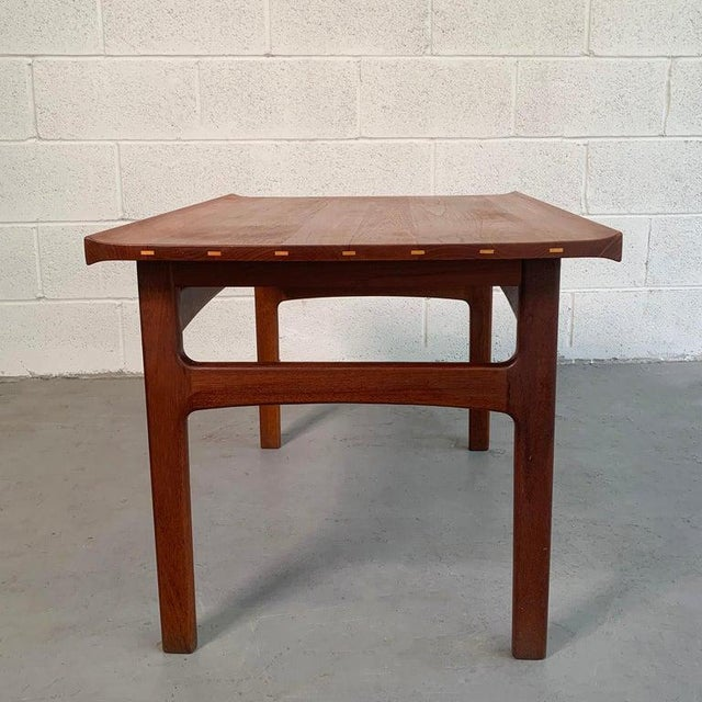 1960s Teak Side Table by Tove and Edvard Kindt-Larsen for Dux For Sale - Image 5 of 9