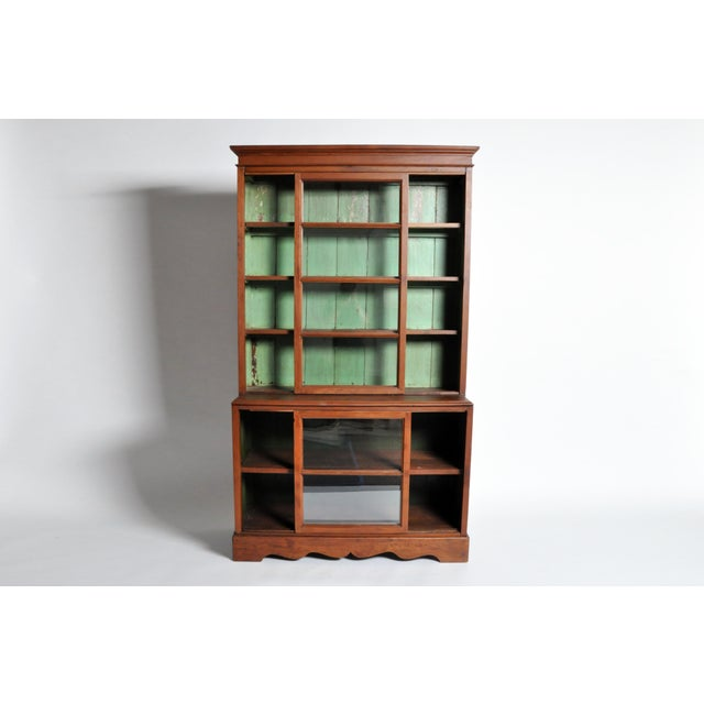 1950s 1950s British Colonial Bookcase For Sale - Image 5 of 13