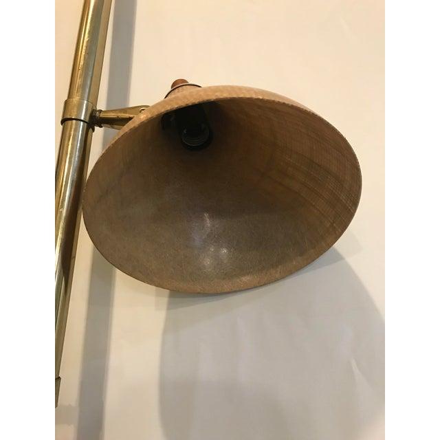Mid-Century Modern Spring Loaded 3-Globe Floor Lamp For Sale - Image 4 of 6