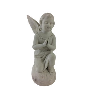 French Bisque Angel Figurine For Sale