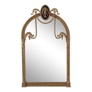 Friedman Brothers Regency Gold Mirror For Sale