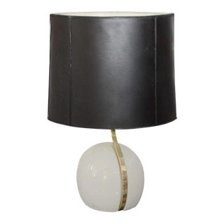 Set of Four Italian Ceramic Table Lamps by Lumi For Sale