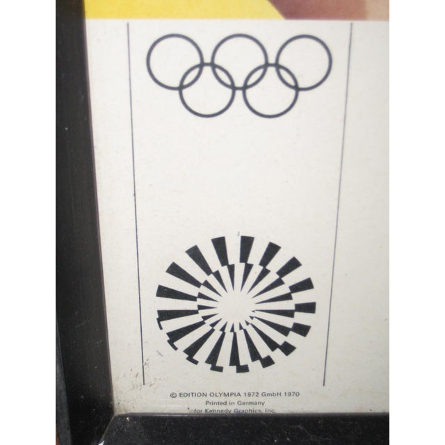 1972 Olympic Games Munich Original Poster by Allen Jones For Sale - Image 4 of 6