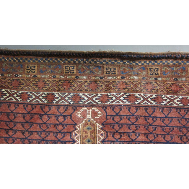"Vintage Sarreid LTD Tribal Rug - 5' x 6'11"" - Image 4 of 6"