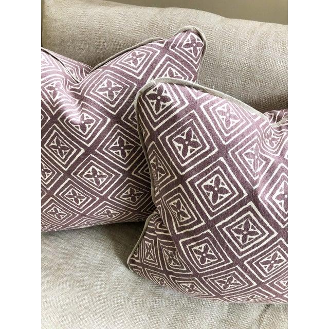 2010s Quadrille China Seas Designer Made Fiorentina Throw Pillows - a Pair For Sale - Image 5 of 13