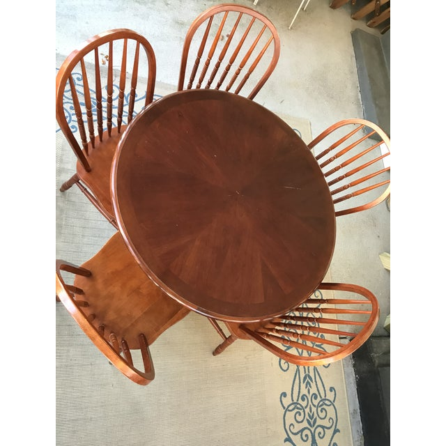 Round Table & Chair Set - Image 2 of 5