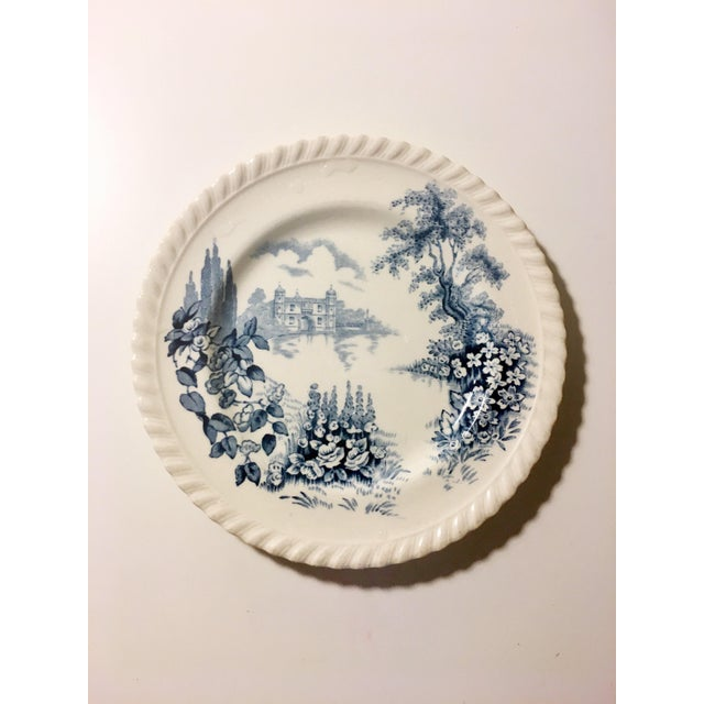 English Style Toile Pattern Trinket Dish - Image 2 of 3