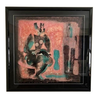 Byron Galvez Uno Paso Acrylograph For Sale