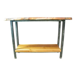 Western Red Cedar Foyer Table