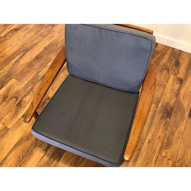 Grete Jalk Danish Teak Lounge Chair For Sale - Image 9 of 13
