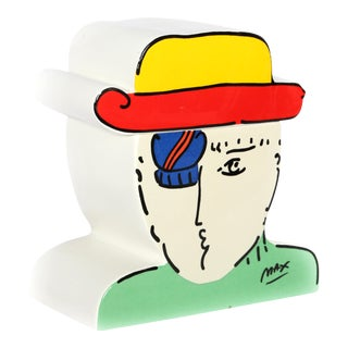 "Peter Max ""Zero"" Cookie Jar"