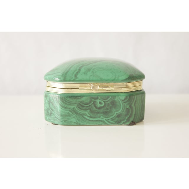 Malachite Box - Image 5 of 8