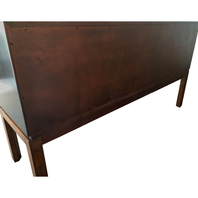 Keno Brothers for Theodore Alexander Mahogany, Fiddleback & Morado Chest For Sale In Salt Lake City - Image 6 of 13