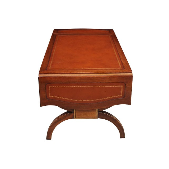 Regency Style Drop-Leaf Coffee Table For Sale In Tampa - Image 6 of 8